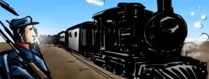 El ferrocarril permitió el rápido traslado de tropas, para sofocar las revoluciones.Latorre se basó en los progresos técnicos.