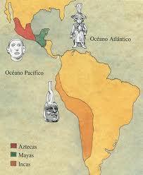 Ubicación de pueblos precolombinos